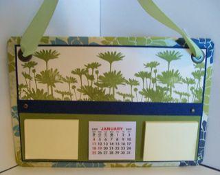 Urban garden calendar