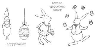 An Egg-cellent Easter stamp set