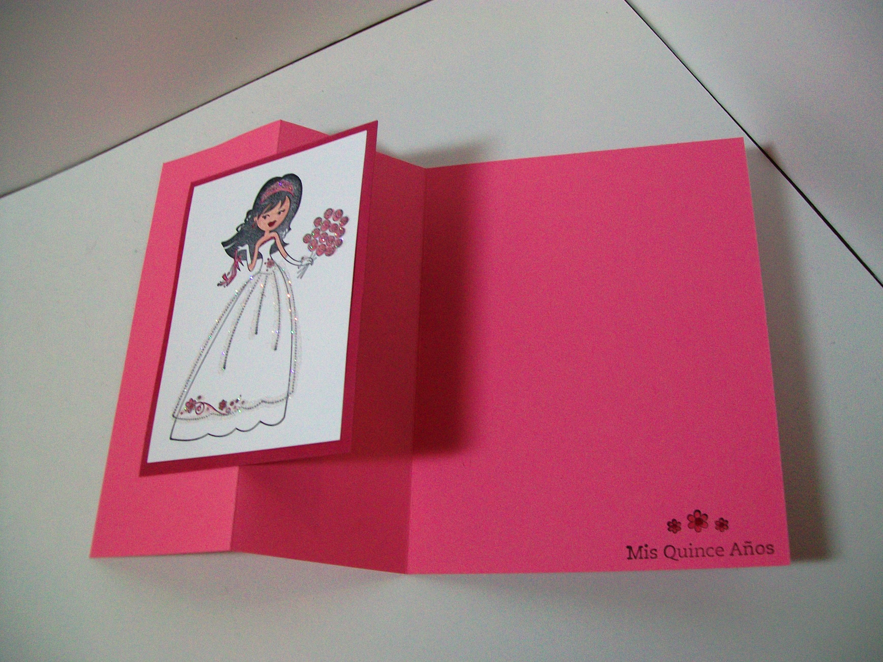 Stamp Crazy Girl: Custom Invitations