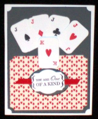 One of kind game night card