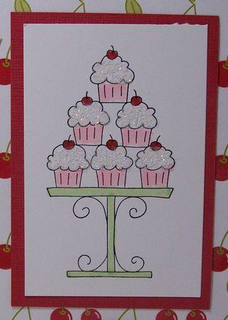Cupcake glitter