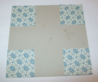 Quilt card step 1