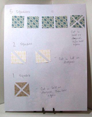 Quilt card sheet