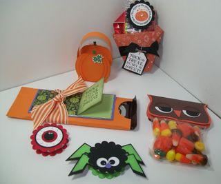 Halloween treats group