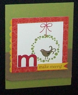 Berry christmas m card
