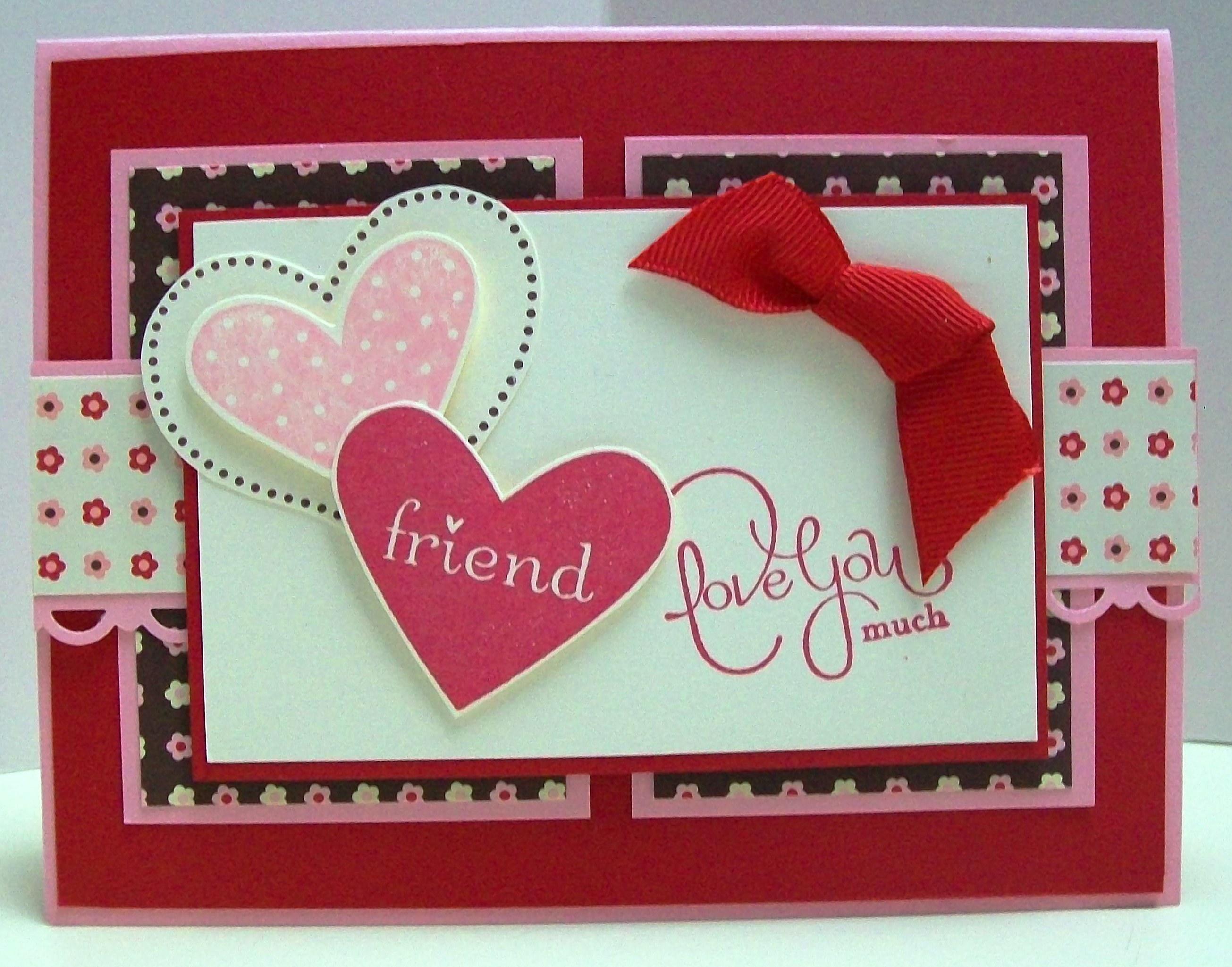 Valentine Cards From The Shoebox Swap Stamp Crazy Girl
