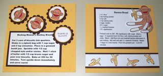 Recipe monkey layout