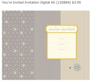You're invited digital download kit 4.95