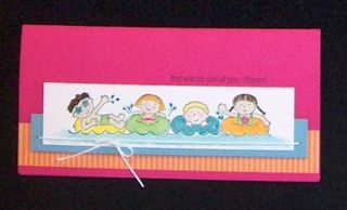 Swimming card